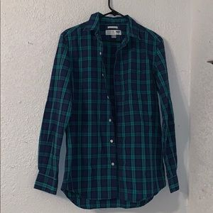 Blue And Green Old Navy Collared Shirt